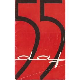 DAF 55 Instructieboekje   Benzine Fabrikant 68 met gebruikssporen   Nederlands