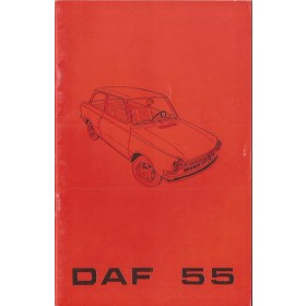 DAF 55 Instructieboekje   Benzine Fabrikant 69 ongebruikt   Nederlands