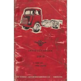 DAF vrachtwagen T1800 DS/1900 Instructieboekje   Diesel Fabrikant 63 met gebruikssporen los in kaft, vlekkerige kaft  Nederlands