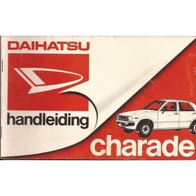 Daihatsu Charade Instructieboekje   Benzine Fabrikant 81 met gebruikssporen   Nederlands