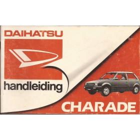 Daihatsu Charade Instructieboekje   Benzine/Diesel Fabrikant 84 met gebruikssporen   Nederlands