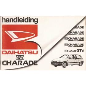 Daihatsu Charade Instructieboekje   Benzine/Diesel Fabrikant 87 met gebruikssporen   Nederlands