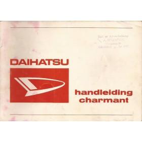 Daihatsu Charmant Instructieboekje   Benzine Fabrikant 78 met gebruikssporen   Nederlands