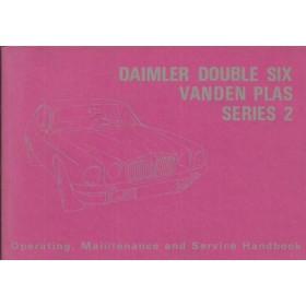 Daimler Double six Vandenplas Series 2 Instructieboekje   Benzine Fabrikant 73 ongebruikt   Engels