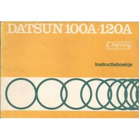 Datsun 100A/120A Instructieboekje  model E10 Benzine Fabrikant 76 ongebruikt   Nederlands