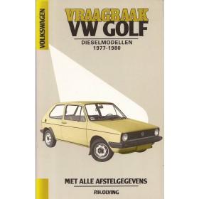 Volkswagen Golf/Jetta Vraagbaak P. Olving  Diesel Kluwer 77-80 ongebruikt   Nederlands