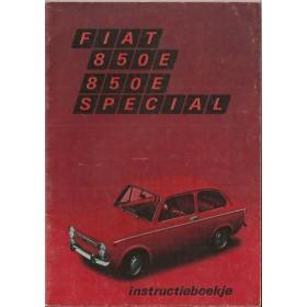 Fiat 850/850 Special Instructieboekje   Benzine Fabrikant 71 ongebruikt   Nederlands