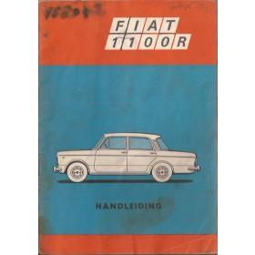 Fiat 1100R Instructieboekje   Benzine Fabrikant 68 met gebruikssporen   Nederlands