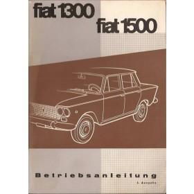 Fiat 1300/1500 Instructieboekje   Benzine Fabrikant 62 ongebruikt   Duits