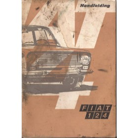 Fiat 124 Instructieboekje   Benzine Fabrikant 69 met gebruikssporen   Nederlands