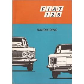 Fiat 125 Instructieboekje   Benzine Fabrikant 70 ongebruikt   Nederlands