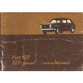 Fiat 127 Instructieboekje   Benzine Fabrikant 76 met gebruikssporen   Nederlands