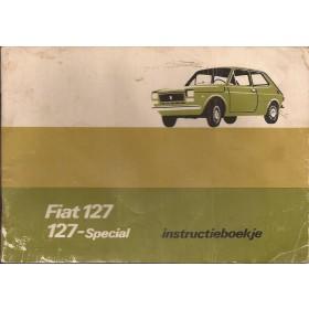 Fiat 127 Instructieboekje   Benzine Fabrikant 76 met gebruikssporen lichte vochtschade  Nederlands