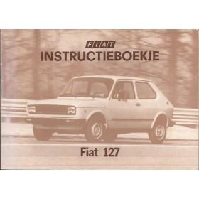 Fiat 127 Instructieboekje  Nuova Benzine Fabrikant 77 ongebruikt   Nederlands