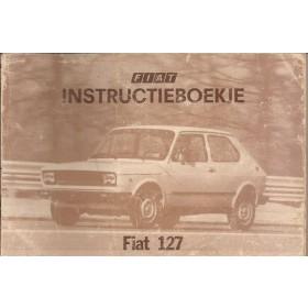 Fiat 127 Instructieboekje  Nuova Benzine Fabrikant 77 met gebruikssporen   Nederlands