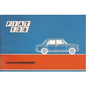 Fiat 128 Instructieboekje   Benzine Fabrikant 70 ongebruikt   Nederlands