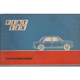 Fiat 128 Instructieboekje   Benzine Fabrikant 70 met gebruikssporen   Nederlands