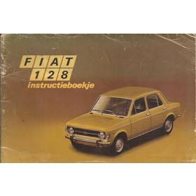 Fiat 128 Instructieboekje   Benzine Fabrikant 71 met gebruikssporen   Nederlands