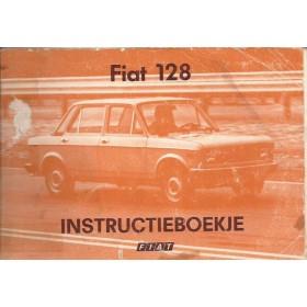 Fiat 128N Instructieboekje   Benzine Fabrikant 77 met gebruikssporen kaft los  Nederlands