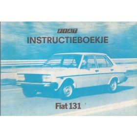 Fiat 131 Instructieboekje   Benzine Fabrikant 80 ongebruikt   Nederlands