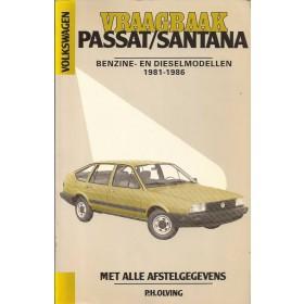 Volkswagen Passat Vraagbaak P. Olving  Benzine Kluwer 81-86 ongebruikt   Nederlands