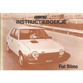 Fiat Ritmo Instructieboekje  Mk1 Benzine/Diesel Fabrikant 80 ongebruikt   Nederlands