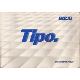 Fiat Tipo Instructieboekje   Benzine/Diesel Fabrikant 92 met gebruikssporen   Nederlands