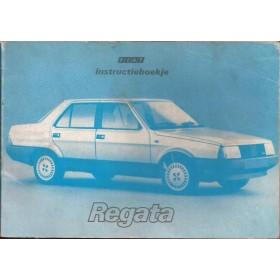 Fiat Regata Instructieboekje   Benzine/Diesel Fabrikant 84 met gebruikssporen   Nederlands