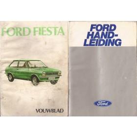 Ford Fiesta Instructieboekje  Mk1 Benzine Fabrikant 78 met gebruikssporen   Nederlands