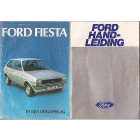 Ford Fiesta Instructieboekje  Mk1 Benzine Fabrikant 77 met gebruikssporen lichte vochtschade  Nederlands