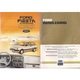 Ford Fiesta Instructieboekje  Mk2 Benzine Fabrikant 83 met gebruikssporen   Nederlands