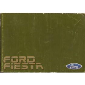 Ford Fiesta Instructieboekje  Mk2 Benzine Fabrikant 84 met gebruikssporen   Nederlands