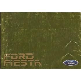 Ford Fiesta Instructieboekje  Mk2 Benzine Fabrikant 85 met gebruikssporen   Nederlands