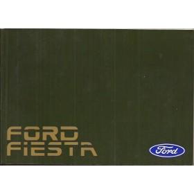 Ford Fiesta Instructieboekje  Mk3 Benzine Fabrikant 88 ongebruikt   Nederlands
