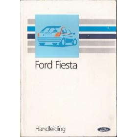 Ford Fiesta Instructieboekje  Mk3 Benzine/Diesel Fabrikant 89 met gebruikssporen   Nederlands