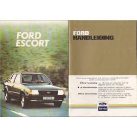 Ford Escort Instructieboekje  Mk3 Benzine Fabrikant 82 met gebruikssporen   Nederlands