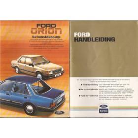 Ford Orion Instructieboekje   Benzine/Diesel Fabrikant 85 ongebruikt   Nederlands