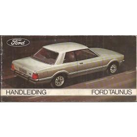 Ford Taunus Instructieboekje  TC2 Benzine Fabrikant 76 met gebruikssporen   Nederlands