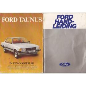 Ford Taunus Instructieboekje   Benzine Fabrikant 79 met gebruikssporen   Nederlands