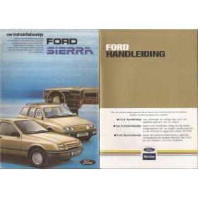 Ford Sierra Instructieboekje   Benzine Fabrikant 82 ongebruikt   Nederlands