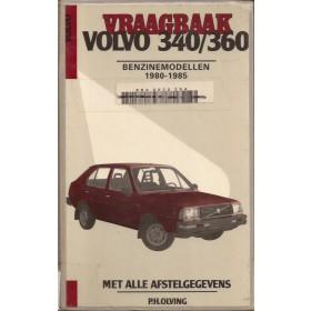 Volvo 340/360 Vraagbaak P. Olving  Benzine Kluwer 80-85 met gebruikssporen harde kaft, ex-bibliotheek  Nederlands