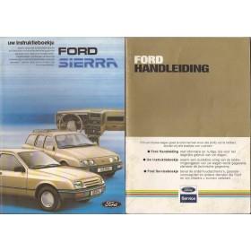 Ford Sierra Instructieboekje   Benzine Fabrikant 82 met gebruikssporen   Nederlands