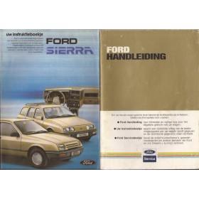 Ford Sierra Instructieboekje   Benzine Fabrikant 83 met gebruikssporen   Nederlands