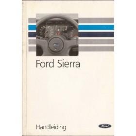 Ford Sierra Instructieboekje   Benzine/Diesel Fabrikant 92 met gebruikssporen   Nederlands