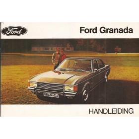 Ford Granada Instructieboekje   Benzine Fabrikant 72 ongebruikt   Nederlands