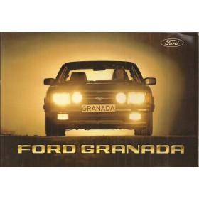 Ford Granada Instructieboekje   Benzine/Diesel Fabrikant 81 ongebruikt LHD  Engels