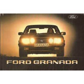 Ford Granada Instructieboekje   Benzine/Diesel Fabrikant 83 ongebruikt   Nederlands