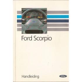 Ford Scorpio Instructieboekje   Benzine/Diesel Fabrikant 91 met gebruikssporen   Nederlands
