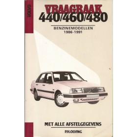 Volvo 440/460/480 Vraagbaak P. Olving  Benzine Kluwer 86-91 met gebruikssporen   Nederlands