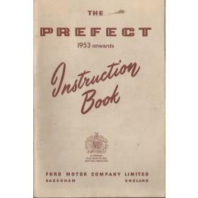Ford Prefect Instructieboekje   Benzine Fabrikant 53 ongebruikt   Engels